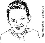 portrait of a boy   Shutterstock . vector #2125194