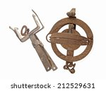 close up photo of two old and...   Shutterstock . vector #212529631