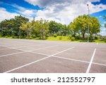 Empty Parking Lot  Parking Lan...