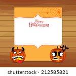 halloween pumpkin background   Shutterstock .eps vector #212585821