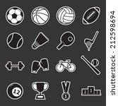 sport icon | Shutterstock .eps vector #212598694