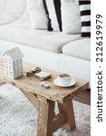 still life interior details ... | Shutterstock . vector #212619979