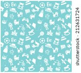toy icon and background | Shutterstock .eps vector #212631724