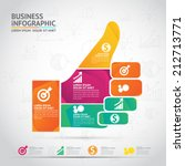 business infographic | Shutterstock .eps vector #212713771