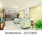 tint living room   Shutterstock . vector #21271825