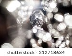 crystal part  from chandelier | Shutterstock . vector #212718634