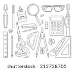 Set Of Stationery Tools...