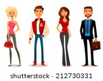 cute cartoon illustration of... | Shutterstock .eps vector #212730331