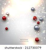 elegant shiny christmas... | Shutterstock .eps vector #212730379