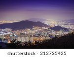 Busan, South Korea cityscape. - stock photo