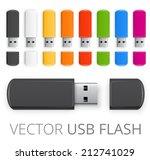 Rainbow Colored Usb Flash Driv...