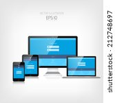responsive web design. adaptive ...