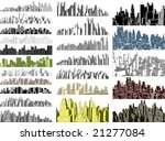 set of simple 3 dimensional... | Shutterstock . vector #21277084