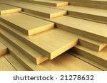 stack of planks   Shutterstock . vector #21278632