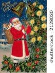 \'merry Christmas\'   Santa Clau...