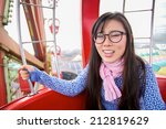 Small photo of Chinese girl got acrophobia