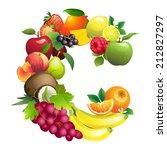 vector illustration letter c...   Shutterstock .eps vector #212827297