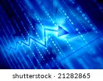 blue data space | Shutterstock . vector #21282865
