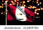 peru national flag torn burned... | Shutterstock . vector #212859781