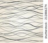 seamless pattern hand drawn... | Shutterstock .eps vector #212886274