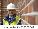 construction worker   buildings ... | Shutterstock . vector #212935861