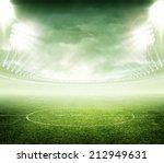 light of stadium | Shutterstock . vector #212949631