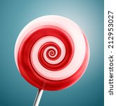 lollipop closeup  candy  eps 10 | Shutterstock .eps vector #212953027