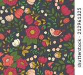 vector seamless pattern with...   Shutterstock .eps vector #212961325