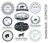 Equine Vintage Vector Logo....