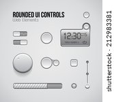 web ui controls design elements ...