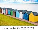 Colorful Diagonal Line Of Beac...