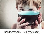 Stock photo hunger shallow focus 212999554