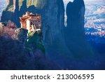 Small photo of Amazing photo of the Holy Rousanou Monastery
