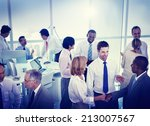 group of business people... | Shutterstock . vector #213007567