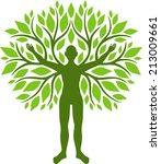 human tree | Shutterstock .eps vector #213009661