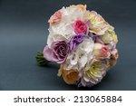 wedding flowers | Shutterstock . vector #213065884
