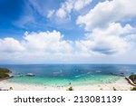 pattaya   thailand   koh lan | Shutterstock . vector #213081139