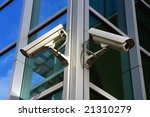 two security cam | Shutterstock . vector #21310279