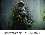 paintball | Shutterstock . vector #213134521