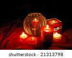 decorative candles | Shutterstock . vector #21313798