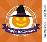 halloween design | Shutterstock .eps vector #213145381