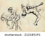 an hand drawn vector... | Shutterstock .eps vector #213185191