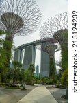 singapore   may 12  gardens by... | Shutterstock . vector #213194239