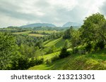 summer afternoon in the... | Shutterstock . vector #213213301