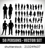 collection of 58 realistic...   Shutterstock .eps vector #213249637