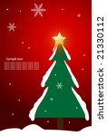 editable vector christmas... | Shutterstock .eps vector #21330112