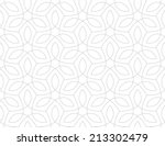 Seamless pattern. Traditional Arabic design.  | Shutterstock vector #213302479