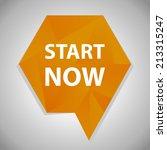 beautiful start web icon | Shutterstock . vector #213315247