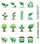 green icon set | Shutterstock .eps vector #21334117