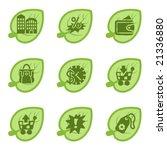 green icons  set 26 | Shutterstock .eps vector #21336880